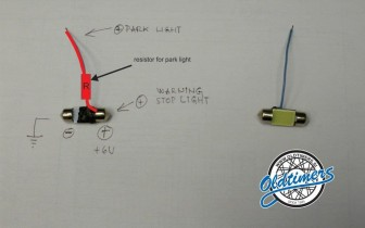 LED SADDLE BADGS (Large)