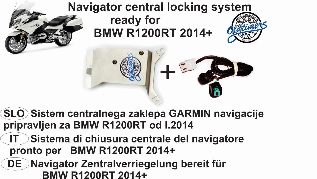 flayer BMW R1200RT NAVI LOCK
